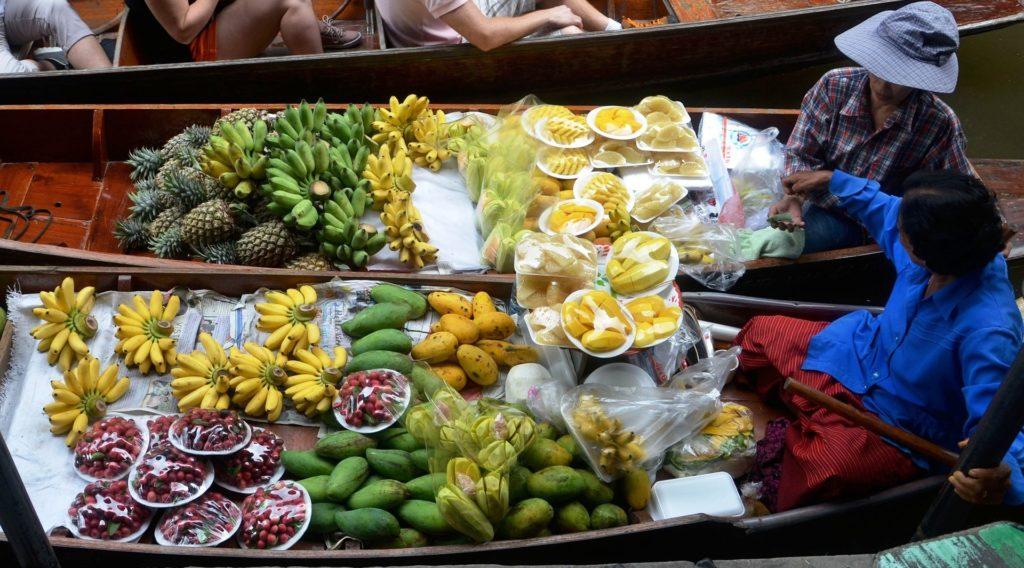 mercato galleggiante tour di bangkok