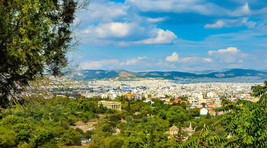 grecia classica e meteore da atene