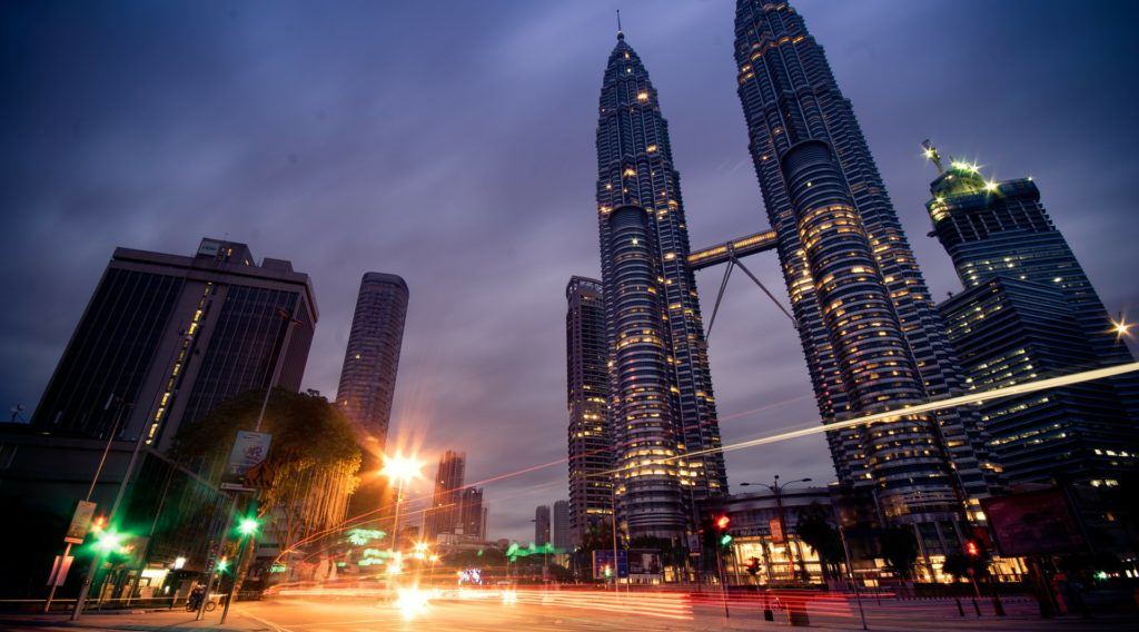 città e foreste della malesia