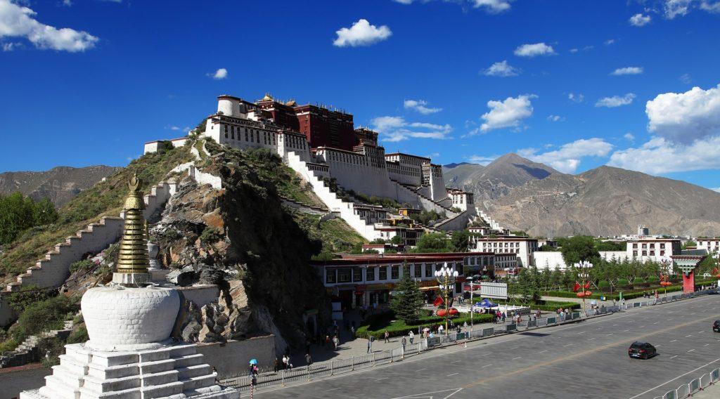 armonia della cina, monastero potala in tibet